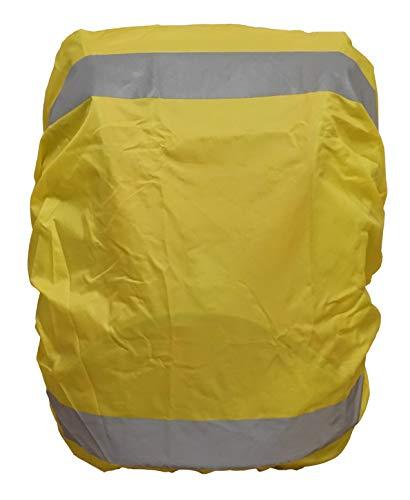 EANAGO Premium regenhoes/regenhoes voor schooltas, rugzak, fietstassen. 100% waterdicht, geel