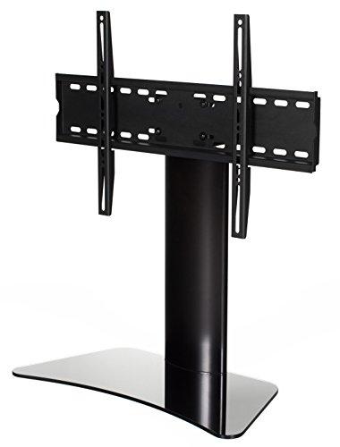 """RICOO FS213-B Supporto TV da Tavolo Televisore 30-55"""" (76-140cm) Staffa Girevole Piedistallo Televisione LED/LCD/Curvo VESA 300x200-600x400"""