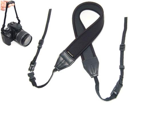 Polaroid Correa de cuello ajustable de neopreno (acolchada) para Nikon 1 J1,...