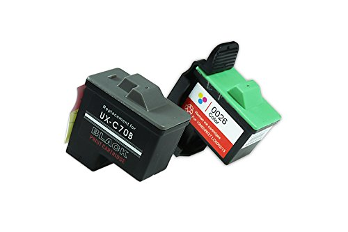 Recycled for Lexmark Z 23 E Ink Cartridges Set Black, Cyan, Magenta, Yellow...