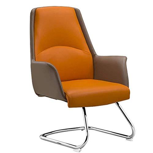 Stoelen Offce stoel RECLINING stoelen bureaustoel Mat Recliner stoel Reclining schommelstoel sportstoel stoelen Game stoelen met krukken computerstoel 104 * 45cm ORANJE