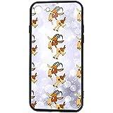 Compatible con Goat Animal Case para iPhone 8 y iPhone 7 5.5 Pulgadas Cubierta de Parachoques de absorción de Choque Parte Posterior antiarañazos