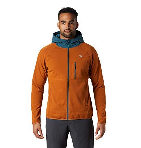 Mountain Hardwear Norse Peak - Giacca con cappuccio - SS20 Terra ruggine XL