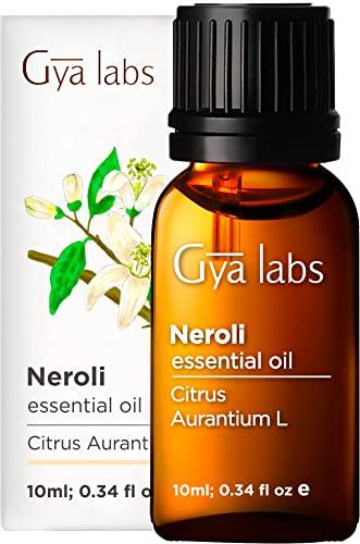 Aceite esencial de neroli - Una fresca comodidad de belleza clara y sueño sereno (10 ml) - Aceite de neroli de grado terapéutico 100% puro
