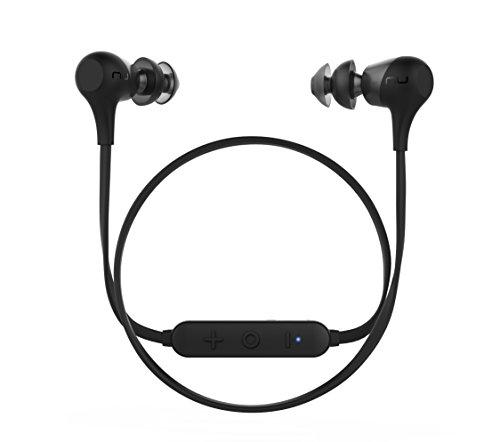 Optoma Nuforce BE 2 - Auriculares intrauriculares inalámbricos con Bluetooth, Color Negro