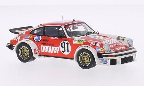 Porsche 934, No.91, Denver, 24h Le Mans, 1980, voiture miniature, Miniature déjà montée, Premium X 1:43