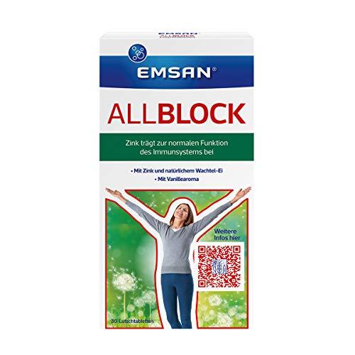Emsan Allblock, 30 Lutschtabletten, 10,5 g