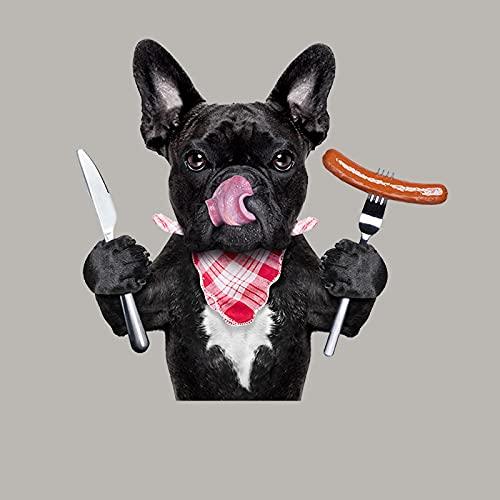 Parche de transferencia térmica,iron on patches,Ropa personalizada diy, lindo perro negro 6