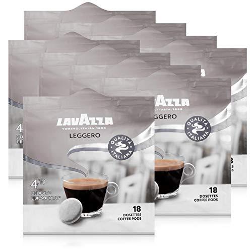 Lavazza Kaffeepads Leggero 18 Pads - Für Kaffee-Padmaschinen 125g Röstkaffee (9er Pack)