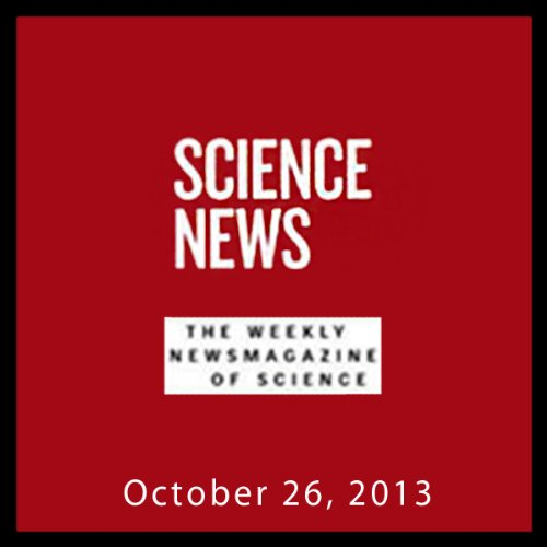 Science News, October 26, 2013 cover art