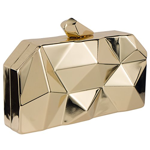 Bagood , Damen Clutch Gr. One size, gold
