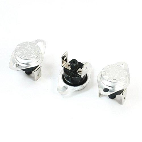 Agger Riarmo Manuale termostato riarmo del termostato KSD 301 Normale Chiuso per elettrodomestici (3PCS)