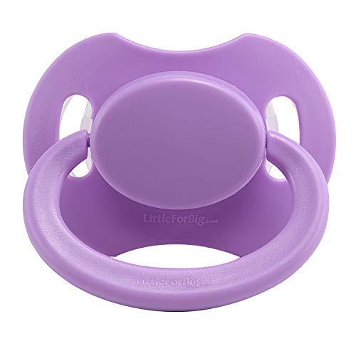 LittleForBig BigShield Generation-2 Adult Sized Pacifier Purple