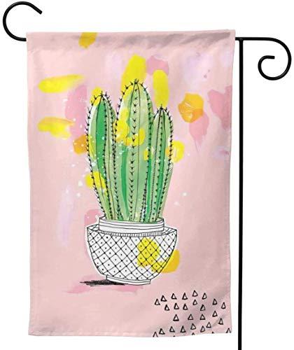 Zudrold Saguaro Kaktus Pflanzen Pink Mini Big Iarge Jumbo für Party-Themen Willkommen im Freien Außendekorationen Ornament Picks Garden Yard Decor