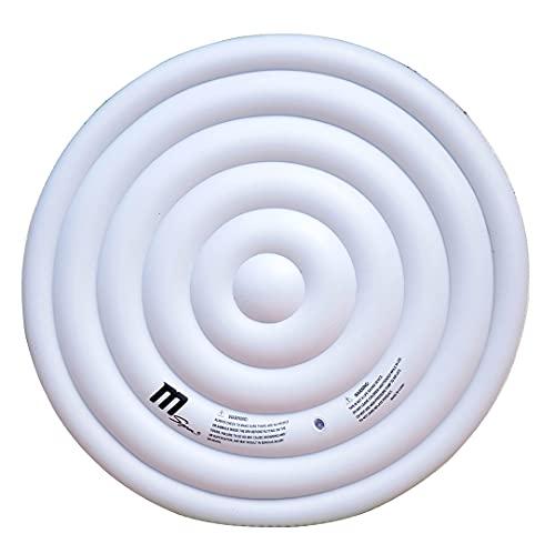 Miweba MSpa aufblasbare Abdeckung B9300299/B0301970 für Whirlpools Rund - 6 Personen - Delight - Premium - Elite - Comfort - Urban - Muse-Serie - Universal (Rund 160 cm)