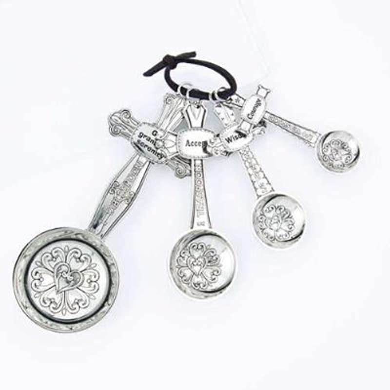 Measuring Spoons Gift Set By GANZ Serenity 2012RETIRED EA14782