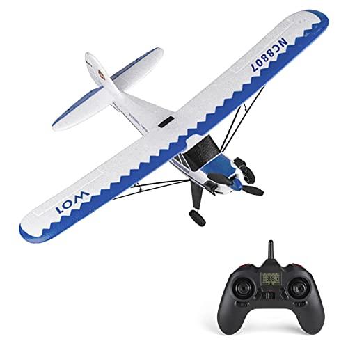 Cuculo YU XIANG W01 Avião RC 2.4 GHz 3CH 6 eixos RC Avião Deslize J3 Aeromodelismo Brinquedos de voo para Adultos Crianças Meninos