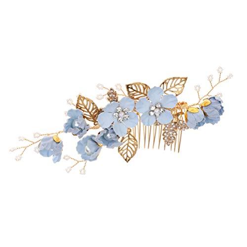Lurrose 1 unid accesorios para el cabello de la boda peine para...