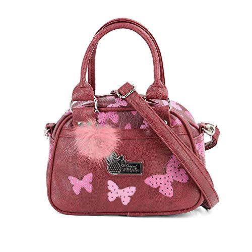 Karactermania Minnie Mouse Marfly-bolso Bowling Fashion Umhängetasche, 22 cm, Rot (Marfly)