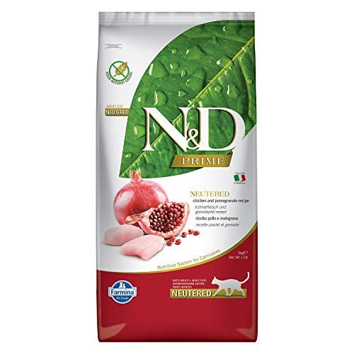 Farmina - NdGr.ainfree Neutered Pollo E MeloGr.ano 5 kg. - Gatto