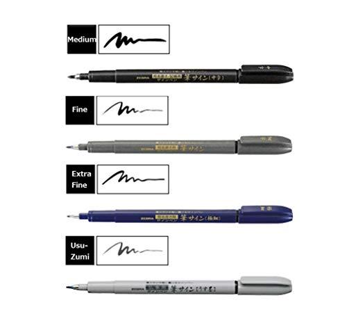 Zebra Zensations Brush Pen - 4 Sizes
