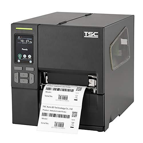 TSC MB340T Drucker mit Abreißkante - 300 dpi - Thermodirekt, Thermotransfer - 106 mm max. Druckbreite, LAN, RS232, USB, USB-Host Schnittstellen