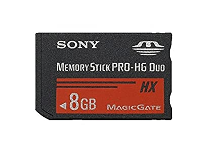 Sony MSHX8A-PSP - Tarjeta de Memoria Memory Stick Pro-HG Duo HX, 8 GB