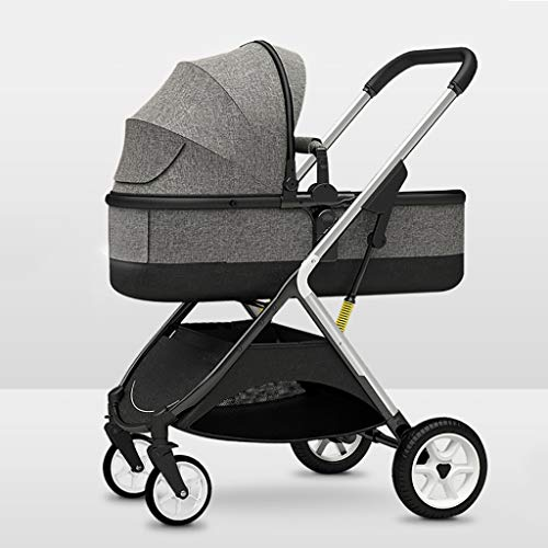Sale!! JIAX Baby Stroller, Convertible Reclining Stroller, Foldable and Portable Pram Carriage Anti-...