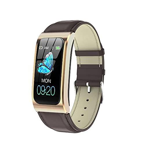 Wsaman SmartWatch Deportivo IP68 Bluetooth, Reloj Deportivo a Prueba de Agua, con Pulsómetro Sueño Podómetro para niñas niños,Pulsera Multifuncional,G