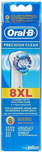 Braun Oral-B Precision Clean Replacement Toothbrush Heads 8 Pack