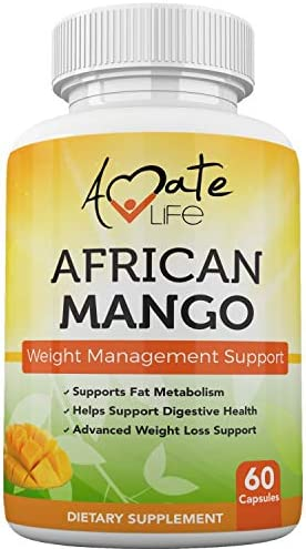 African Mango Seed Extract Irvingia Gabonensis Supports Metabolism and Fat Burning Weight Management product image