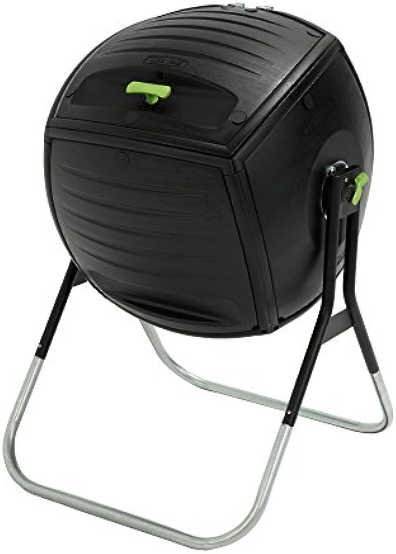 Lebenslange 189Liter (50Gallonen) Kompost Zahnputzbecher–Schwarz