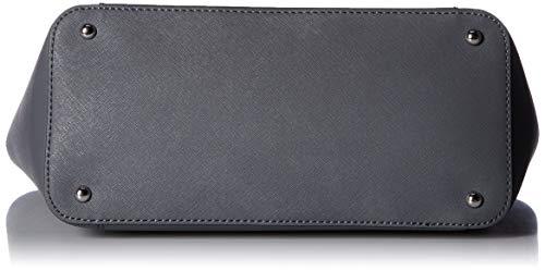 Fashion Shopping Calvin Klein Hayden Saffiano Leather East/West Top Zip Chain