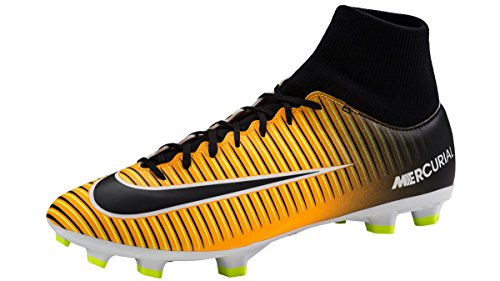 Nike Herren Mercurial Victory Vi Df Fg Fußballschuhe, Grün (Electric Green/Flash Lime/White/Black), 40.5 EU(7.5 US)