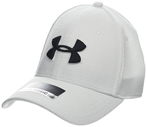 Under Armour Blitzing II Gorra, Hombre, Blanco (White/Black 110), L/XL