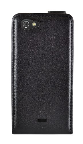 Ideus CAMIROLEABK - Custodia per Sony Ericsson Xperia Miro, con chiusura magnetica, colore: Nero