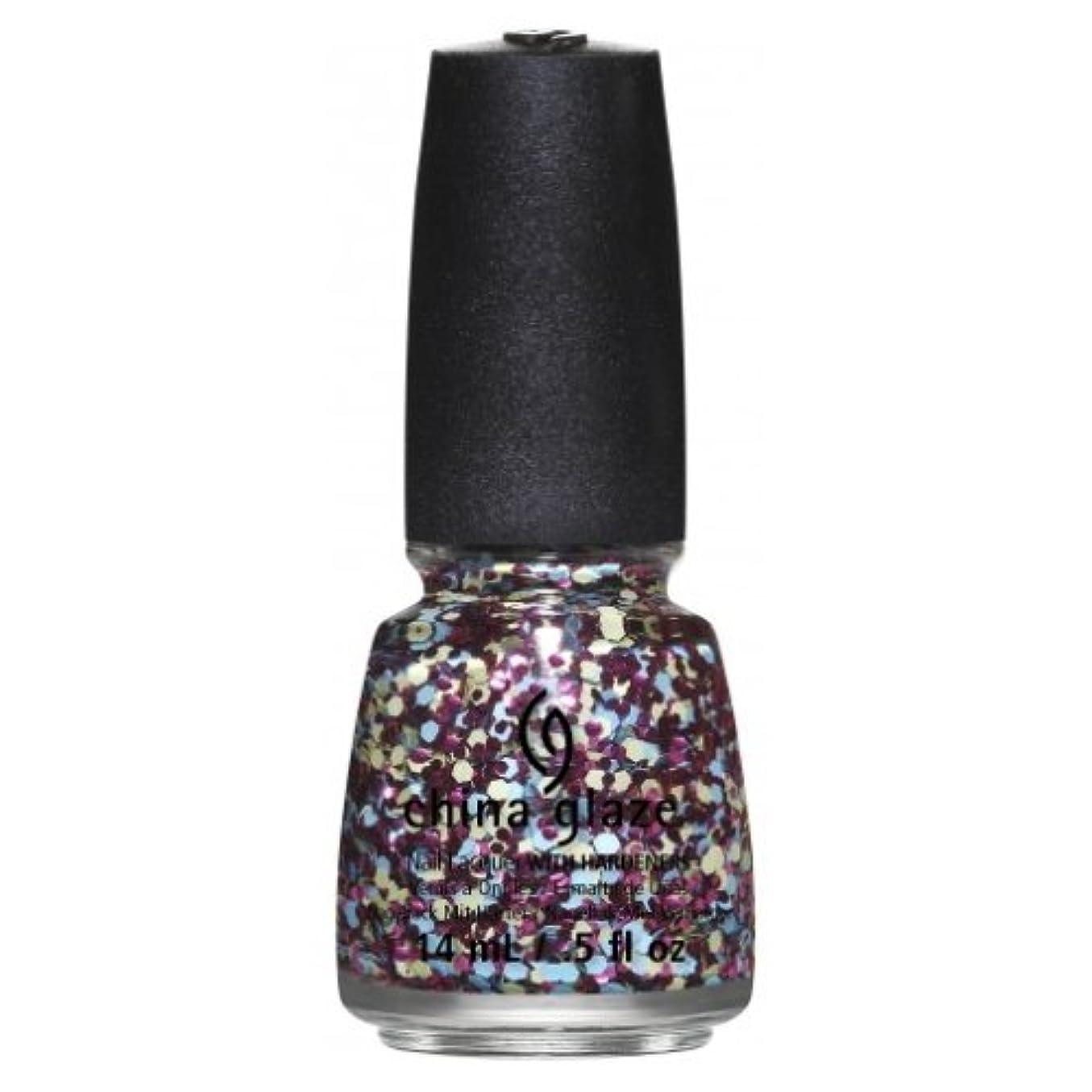 突き刺すみなさん誘惑(6 Pack) CHINA GLAZE Nail Lacquer - Suprise Collection - I'm A Go Glitter (並行輸入品)