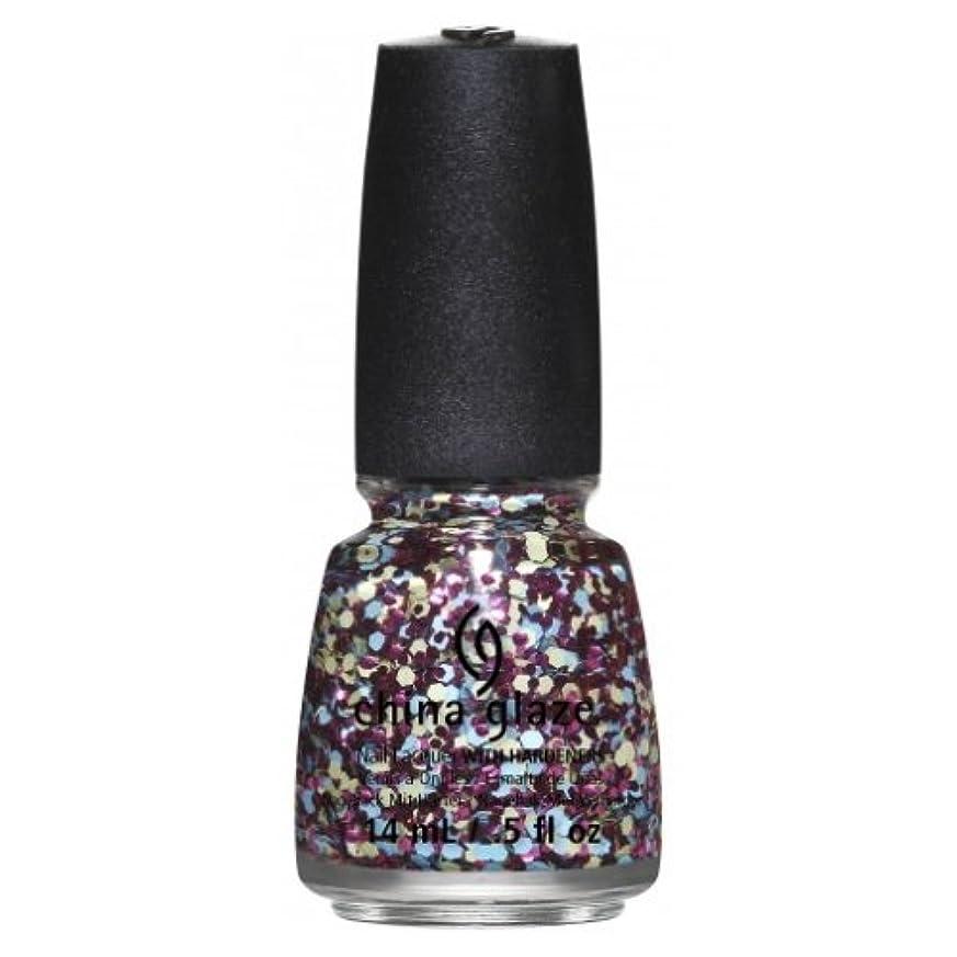 フクロウ用量スクラップブックCHINA GLAZE Nail Lacquer - Suprise Collection - I'm A Go Glitter (並行輸入品)