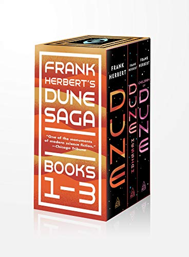 Frank Herbert's Dune Saga 3-Book Boxed Set: Dune, Dune Messiah, and Children of Dune