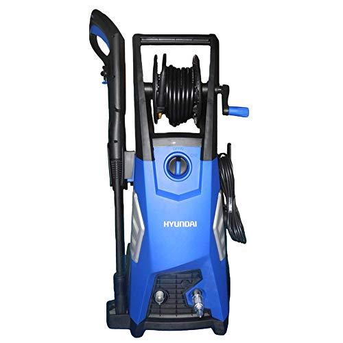 Hyundai HY-HYWE13-36, HYWE13-36 Hidrolavadora Eléctrica, Serie Hobby, azul y negro