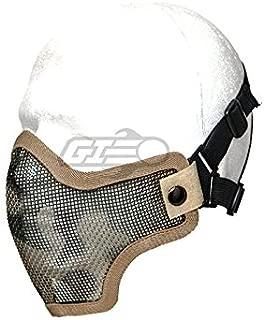 Lancer Tactical Half-Face Mesh Mask (Desert Camo)