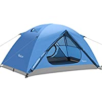 Osaloe Tienda de Campaña para 1-2 Personas, Tienda de Playa Impermeable Portátil para Camping, Senderismo, Viajes, Pesca, Picnic y Deportes al Aire Libre (Azul)