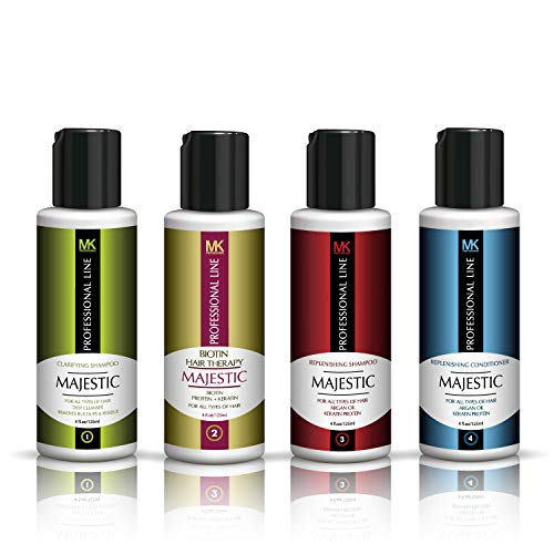 Majestic Biotin Hair Therapy 125ml(4 OZ) Complete Kit- Formaldehyde Free - USA
