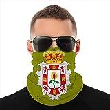 Funda de Cuello de Microfibra para Bandera Unisex Granada es una Provincia de andalucía de Headwear Cover Shield