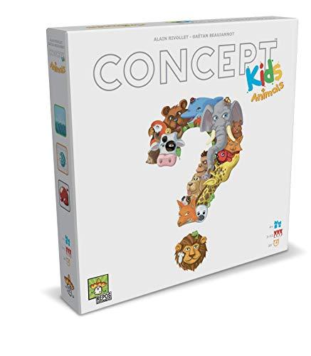 Asmodee- Concept Kids Animali Gioco da Tavolo per Tutta la Famiglia, 8642