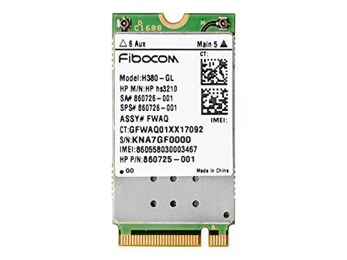 Hewlett Packard 1HC90AA draadloze mobiele modem, 3G GPRS, WCDMA, HSPA+, M.2 Card, 21.6 Mbps