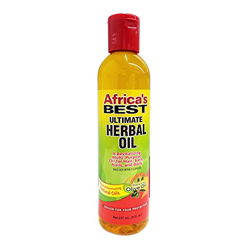 Africa's Best Ultimate Herbal Oil, 8 Ounces (Pack of 3)