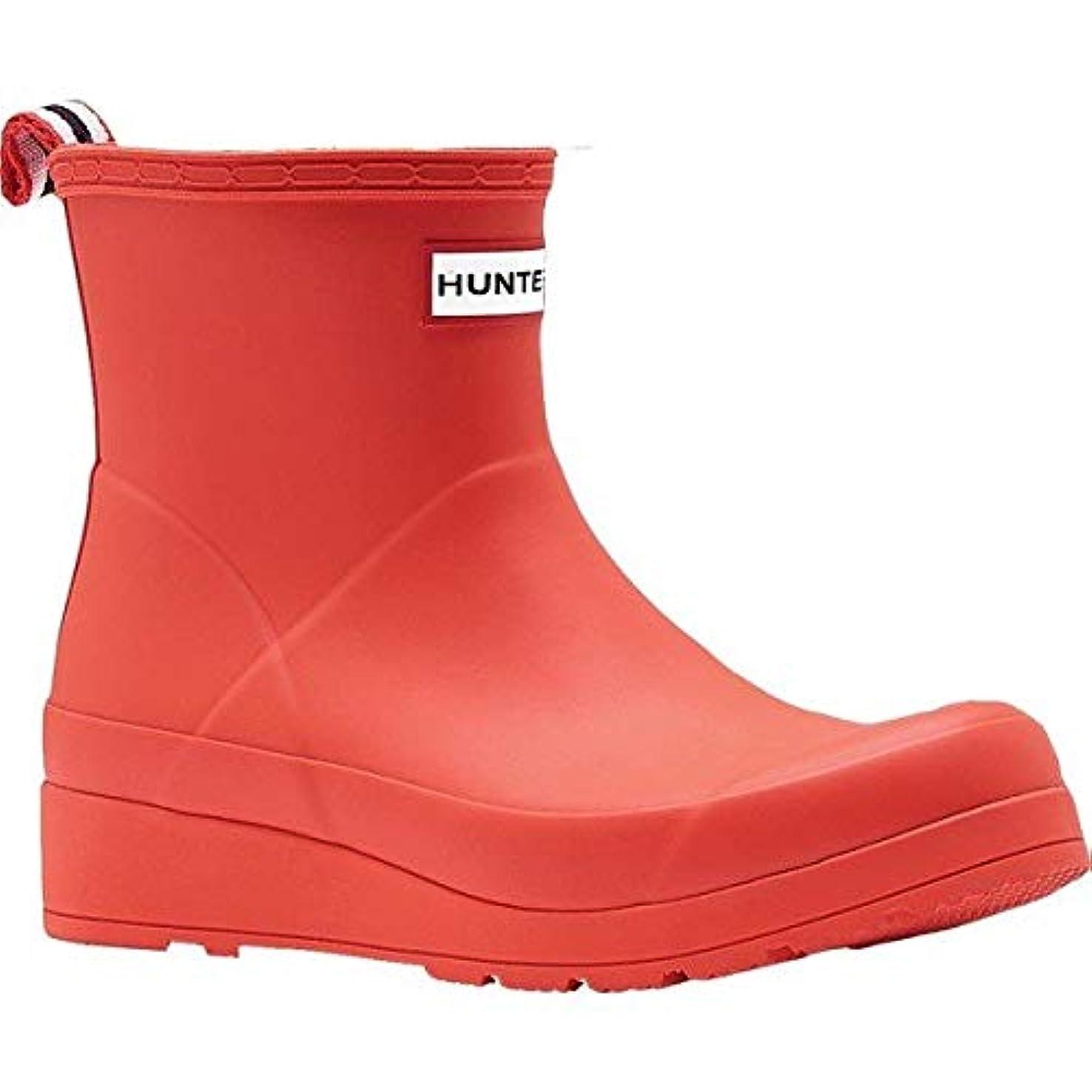 港人事貫通する[ハンター] レディース ブーツ&レインブーツ Original Short Play Rain Boot [並行輸入品]