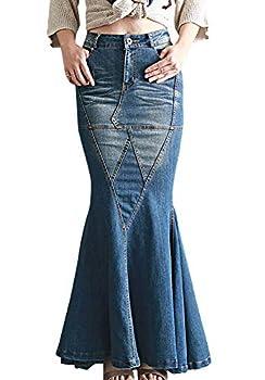 Best maxi skirt jeans Reviews