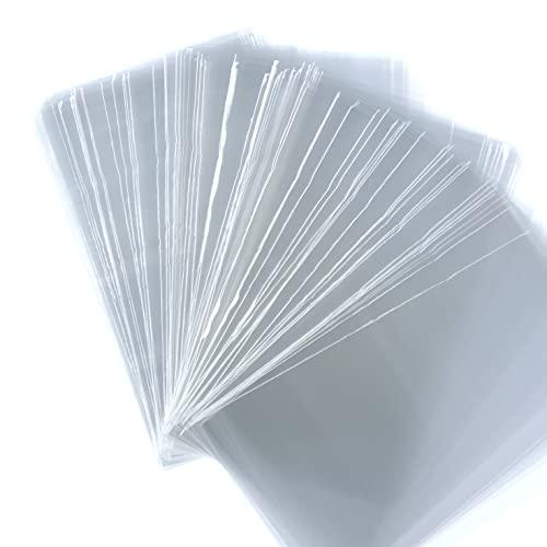 HARU雑貨 OPP袋 60mm 100mm 1000枚 透明 0.03mm テープ無し クリアー ラッピング ビニール袋 名刺 スリーブ